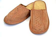Herren Leder Hausschuhe Schuhgröße 42 bis 45 NEU