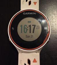 Garmin Forerunner 620 GPS Running Watch White & Orange VGUC