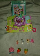 Lot of Littlest pet shop teensies,8 items bunny Rabbit,house,teensies And More