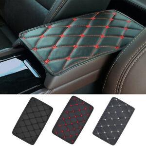 Car Armrest Pad Cover Center Console Box PU Leather Cushion Mat Auto Accessory
