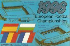 Euro '96 - UEFA - England - Group B Postcard - Spain/ France - FREE POSTAGE