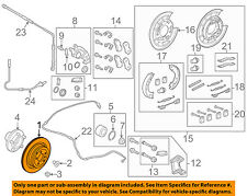 LAND ROVER OEM 06-13 Range Rover Sport Rear Brake-Rotor SDB000646