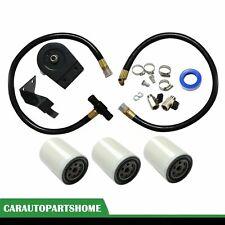 Coolant Filtration Filter Kit w/ 3 Filter Fit 03-07 Ford 6.0L Powerstroke Diesel