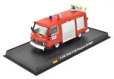 Fire Engine France 1984 VSR Peugeot J9 BBP metal 1/50 Fire Vehicle Model car