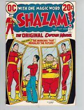 Shazam! #4  The Original Captain Marvel vs IBAC from 1973 VF- White Cover