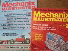 Mechanix Illustrated Magazines Oct/Dec 71