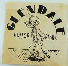 1930's-50's Glendale Roller Rink, California Roller Skating Label Vintage B4