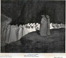 INFERNO: BOLGIA DEGLI IPOCRITI. Gutave Doré.Dante Alighieri.Divina Commedia.1880