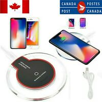 Qi Wireless Charger Mat 10W FAST Charging Pad For Android/iPhone mobile phone
