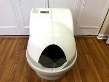 CatGenie 120 Self Clean Cat Litter Box Self Washing Self Drying Used Sanitized