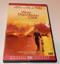 What Dreams May Come Robin Williams  (DVD, 1999, Special Edition) WS