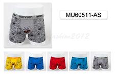 5pc Size 3 2-4 years Comfort Cotton Boys Boxer Briefs Spider Kids Underwear