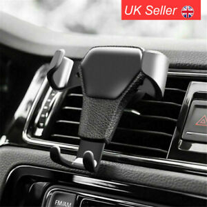 Gravity Car Phone Holder Air Vent Mount Stand Cradle For iPhone X XS 11 Pro Max