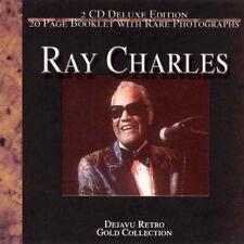 Ry Charles Dejavu Retro Gold Collection 2 CD-Set mit 20 Page Booklet mit Bildern