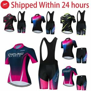Pro Team Cycling Jersey Set Women Summer Bike Clothes MTB Ropa Ciclismo