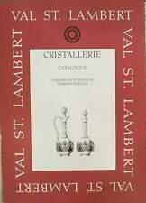 LIVRE : VAL SAINT LAMBERT ( ST VSL) 1904-1905 (vaas,glas,karaf …)