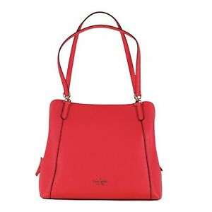 Kate Spade Jackson Medium Triple Compartment Shoulder Bag Purse Casual New Nwt
