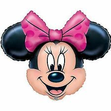 Minnie Mouse Supershape Foil Balloon by Amscan Requires Helium