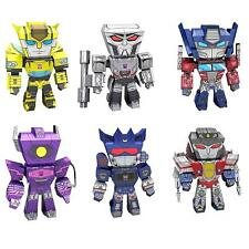 Fascinations Set of 6 Metal Earth Legends Transformers 3D Laser Cut Model Kits