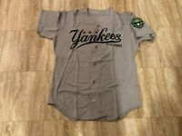 Bat Boy Team Issued Pulaski Yankees Gray Road Jersey New York Yankees A