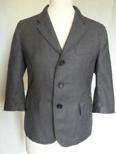 Wool Patternless Suit Jackets for Women
