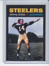 Johnny Unitas '55 Pittsburgh Steelers rookie season MC Glory Days #5