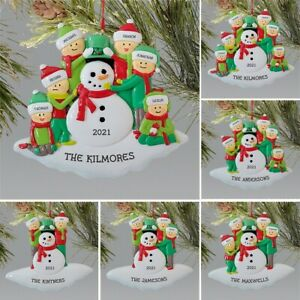 Christmas Ornament Personalized Survivor Family Hanging Ornaments Decorations