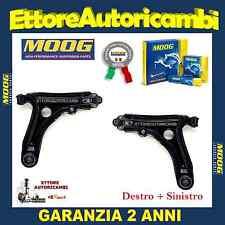 2 BRACCI SOSPENSIONE ANTERIORI MOOG SEAT IBIZA III (6K1) 99->2002 NUOVI COMPLETI