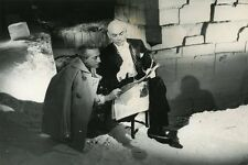YUL BRYNNER JEAN COCTEAU LE TESTAMENT D'ORPHEE 1960 VINTAGE PHOTO ORIGINAL #12