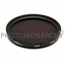 Filtro ND8 Green.L 49mm 3 stop neutral density Canon Nikon Sony Tamron Sigma 49