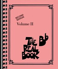 The Real Book Volume II Sheet Music Bb Edition Real Book Fake Book NEW 000240227