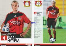 Sami HYYPIÄ + Bayer 04 Leverkusen + Saison 2009/2010 + Autogrammkarte