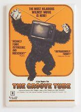 Die Groove Tube Kühlschrankmagnet (2.5 x 3.5 Zoll) Movie Poster Gorilla