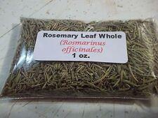 1 oz.  Rosemary Leaf Whole (Rosmarinus officinales)