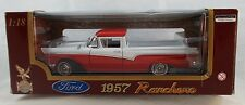 Road Legends 1957 Ford Ranchero Red & White 1:18  Diecast Mint in Box V4