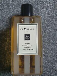 Jo Malone Amber & Lavender Bath Oil 250ml Discontinued
