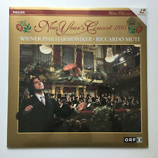 New Year´s Concert 1993   Riccardo Muti   PAL   LASERDISC still sealed