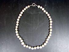Magnifique collier de 44 perles d'eau douce baroques L - 47 cm 50 gr