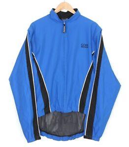 GORE BIKE WEAR Mesh Lined Windstopper Cycling Jacket Men Size XL MJ2258