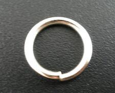 100Pcs Silver Tone Open Jump Rings 12x1.5mm Wholesale SP0057