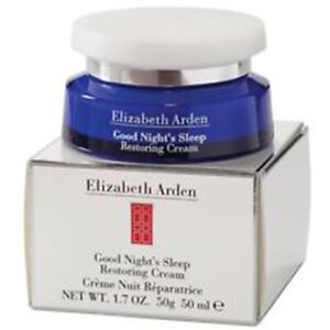 Elizabeth Arden Good Night's Sleep Restoring Cream 1.7oz NIB