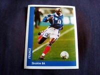 Figurina Ds Sticker France 98 n°131 IBRAHIM BA FRANCIA FRANCE World Cup