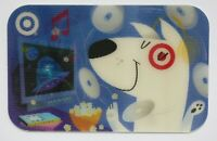 Target Gift Card Lenticular Bullseye w/ Music, Movies, Popcorn - 2005 - No Value