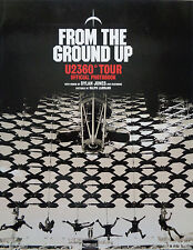 From The Ground Up U2360 Tour. Official Photobook by Dylan Jones Hardback 256pp.