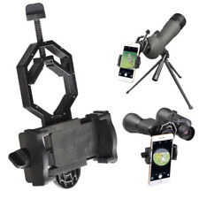 Telescope Spotting Scope Microscope Mount Holder Mobile Phones Camera Adapter E