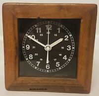 Rare Ex British Army Chronometer Clock Ministry of Defence Chronometer (A645)