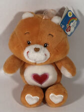 Nwt Care Bears Tenderheart Bear 20th anniversary Small Plush 9�