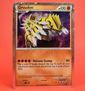 Pokemon TCG English Card Call of Legends Shining Groudon SL4 Holo Rare