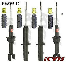 KYB EXCEL-G SHOCKS 89 - 91 HONDA CIVIC CRX FULL SET OF 4 WITH BOOTS