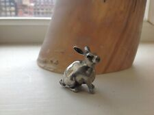 More details for antique silver rabbit perfect gift wedding christening birthday graduation